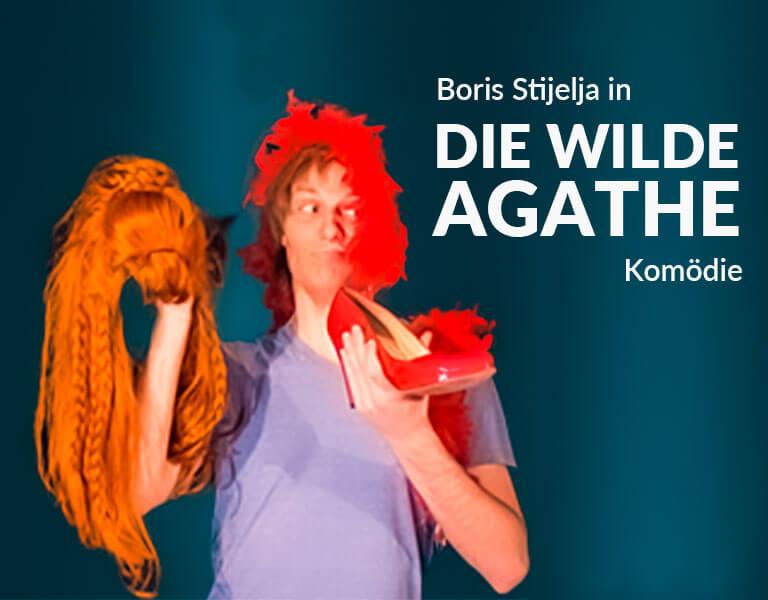 Theaterstück Die wilde Agathe - Komödie